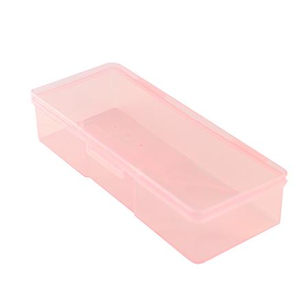 TNL, Контейнер для стерилизации, малый, прозрачно-розовый