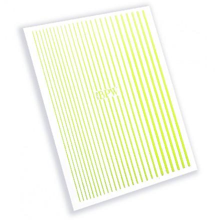 Купить BPW.Style, Гибкая лента, неон желтый, №1-19