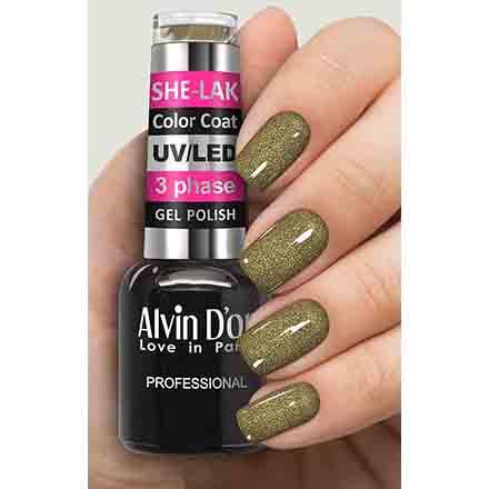 Купить Alvin D'or, Гель-лак №3578, Зеленый