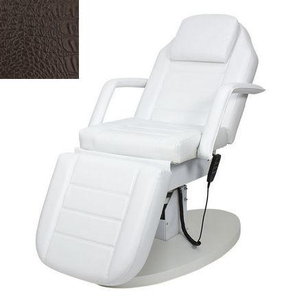 Купить Мэдисон, Косметологическое кресло «Элегия-03», коричневое, «крокодил»