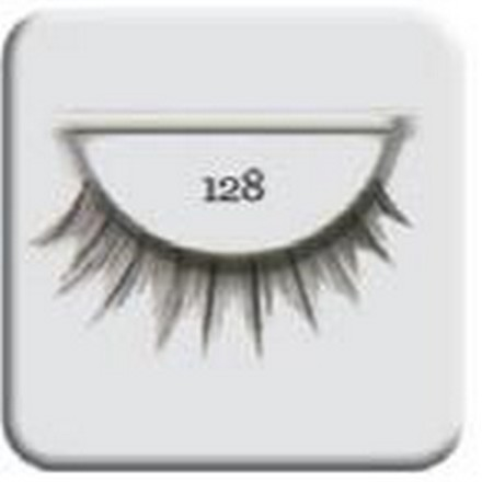 Salon Perfect, Strip lash black, Ресницы черные № 128