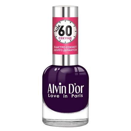 Alvin D'or, Лак «60 секунд» №30, Фиолетовый  - Купить