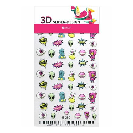 Купить Milv, 3D-слайдер B280