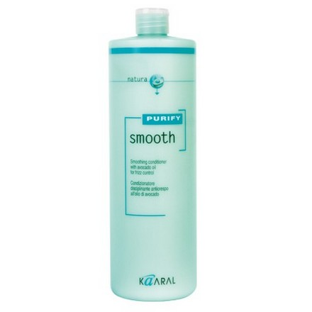 Kaaral, Кондиционер Smooth Purify для вьющихся волос, 1000 мл kaaral кондиционер для вьющихся волос kaaral purify smooth conditioner 1234 3800 мл