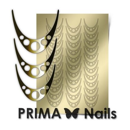 Prima Nails, Металлизированные наклейки CL-005, золото