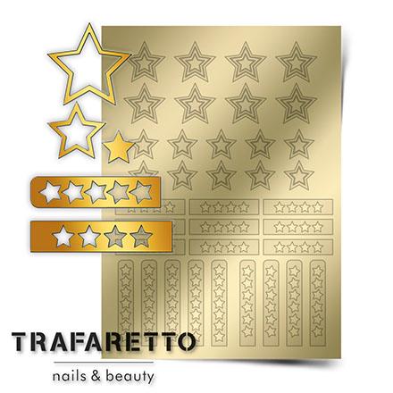 Купить Trafaretto, Металлизированные наклейки UZ-02, золото