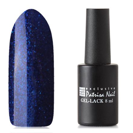 Patrisa Nail, Гель-лак «Две стихии» №R15Patrisa Nail трехфазный шеллак<br>Гель-лак (8 мл) фиолетово-синий, с синими микроблестками, плотный.<br><br>Цвет: Синий<br>Объем мл: 8.00