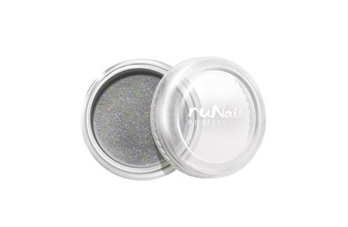 ruNail, дизайн для ногтей: пыль (серебряный) runail дизайн для ногтей ракушки 0287