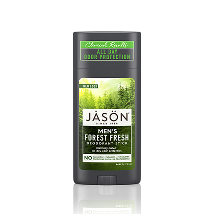 Купить JASON, Твердый дезодорант Men's Forest Fresh, 71 г, JASON (JĀSÖN)