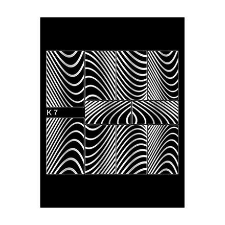 Milv, Слайдер-дизайн К7, сереброСлайдер-дизайн<br>Слайдер для создания дизайна на ногтях.<br>