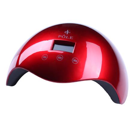 Купить POLE, Лампа UV/LED, 24W, красная