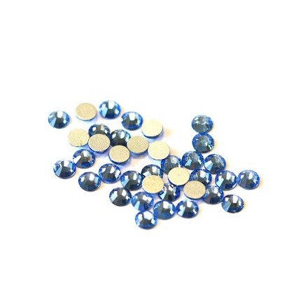 TNL, Стразы 4 мм голубые, 50 шт. (TNL Professional)
