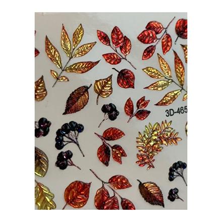 AnnaTkacheva,3D-слайдерCrystal№465 «Осень. Листья» фото