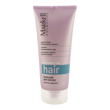 Markell, Бальзам для волос против перхоти Professional, 200 мл