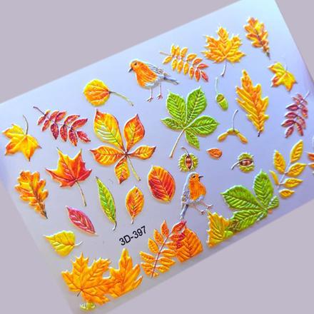 Купить AnnaTkacheva, 3D-слайдер№397 «Осень. Листья», Anna Tkacheva