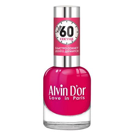 Купить Alvin D'or, Лак «60 секунд» №23, Розовый