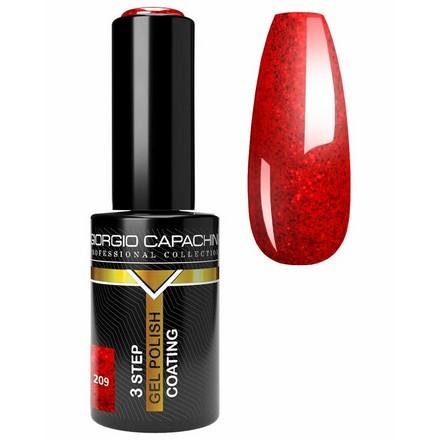 Купить Giorgio Capachini, Гель-лак Rouge №209, Красный