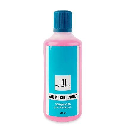 TNL, Жидкость для снятия лака, 500 мл tnl жидкость для снятия акрила и типс 100 мл