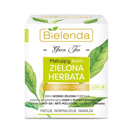 Купить Bielenda, Дневной крем для лица Green Tea, 50 мл