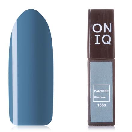 Купить ONIQ, Гель-лак Pantone №188s, Bluestone, Синий