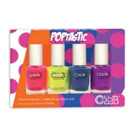 Color Club, Набор лаков Poptastic Mini Gift Set