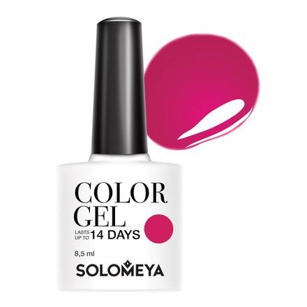 Купить Solomeya, Гель-лак №51, Breton, Розовый
