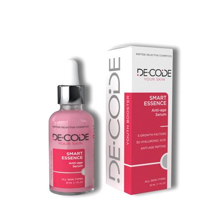 Купить DECODE, Пептидная сыворотка для лица Smart Essence, 30 мл
