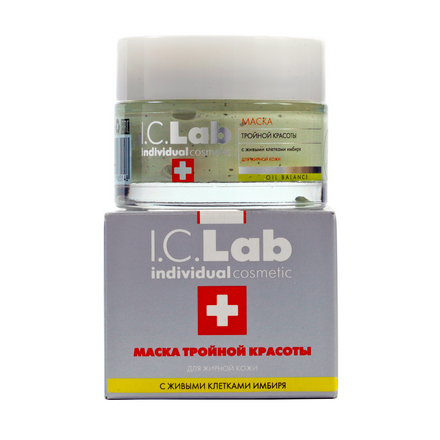 I.C.Lab Individual cosmetic, Маска «Тройной красоты», 50 мл