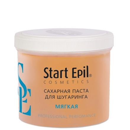 Start Epil, Сахарная паста для шугаринга «Мягкая», 750 г