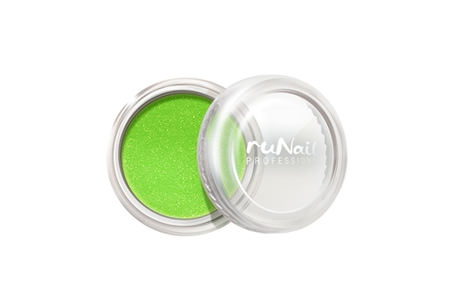 ruNail, дизайн для ногтей: пыль (светло-зеленый)