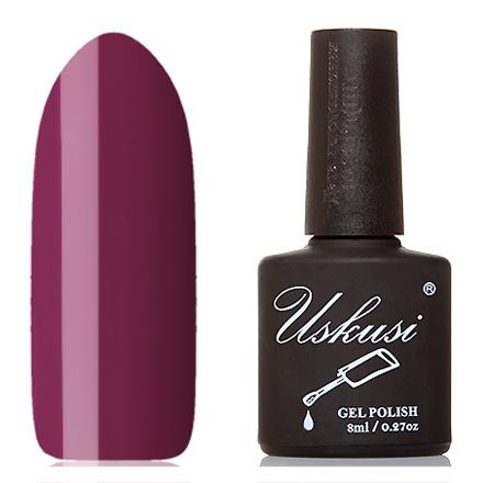 Купить Uskusi, Гель-лак №023, Фиолетовый