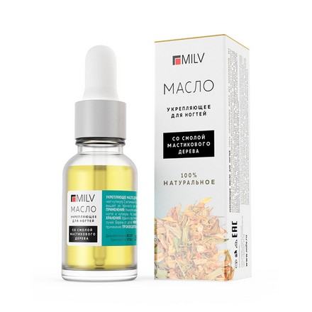 Milv, Масло для ногтей «Natural Oil», 15 мл