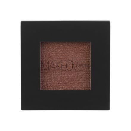 MAKEOVER PARIS, Тени для век Single Eyeshadow, Coffee