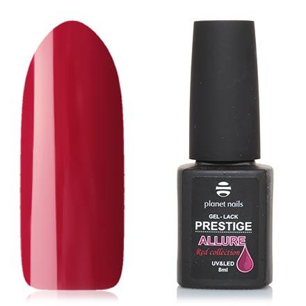 Planet Nails, Гель-лак Prestige Allure №655Planet Nails<br>Гель-лак (8 мл) рубиновый, без перламутра и блесток, плотный.
