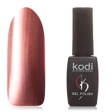 Kodi, Гель-лак №H23Kodi Professional<br>Гель-лак (8 мл) коралловый, с эффектом металлик, плотный.