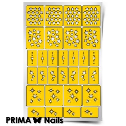 Prima Nails, Трафареты «Звезды»