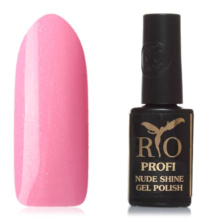 Купить Rio Profi, Гель-лак Nude Shine №13, Мерседес, Розовый