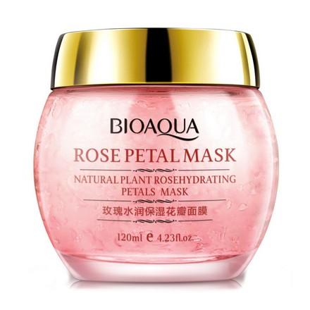 Bioaqua, Ночная маска Rose Petal, 120 г