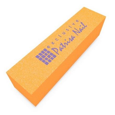 Patrisa Nail, Шлифовочный блок персиковый, 180/240