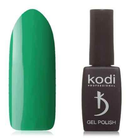 Kodi, Гель-лак №60GYKodi Professional<br>Гель-лак (12 мл) ярко-зеленый, без перламутра и блесток, плотный. Прошлая серия: №322.