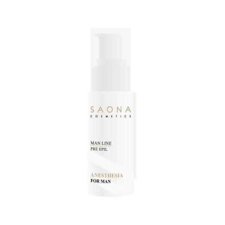Saona Cosmetics, Гель обезболивающий, поверхностная анастезия, для мужчин, 30 мл