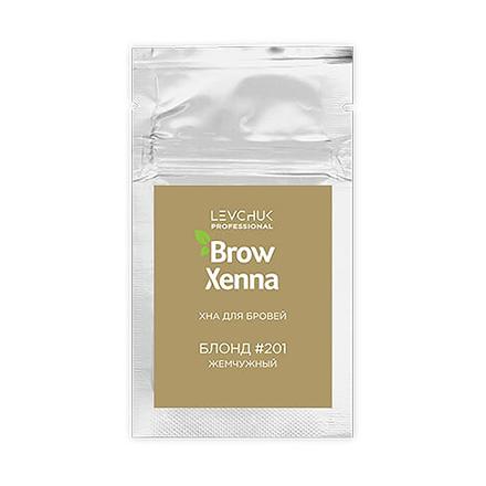 Купить BrowXenna, Хна для бровей «Блонд» №201, 6 г