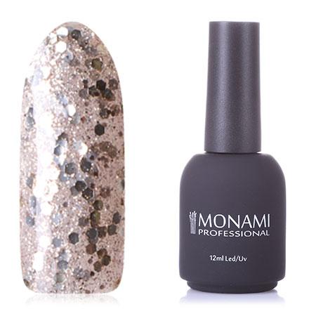 Купить Monami Professional, Гель-лак №401, Серебряный
