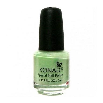 Купить Konad, лак для стемпинга, цвет S08 Pastel Green 5 ml (пастельно-зеленый), Зеленый