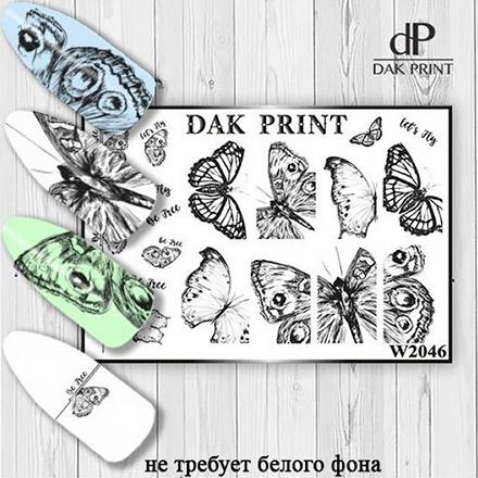 Купить Dak Print, Слайдер-дизайн №2046
