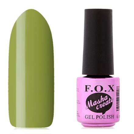 Купить FOX, Гель-лак Masha Create Pigment №910, F.O.X, Зеленый