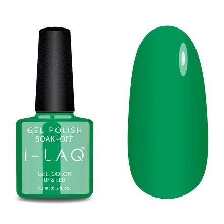 Купить I-LAQ, Гель-лак №154, Зеленый