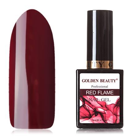 Bluesky, Гель-лак Golden Beauty Red Flame №07 bluesky гель лак golden beauty 66