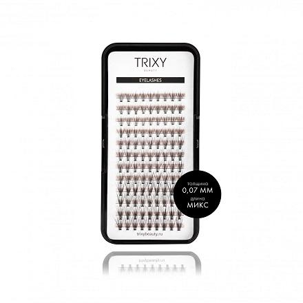 Купить Trixy Beauty, Ресницы для наращивания Premium Mix, 10 шт. в пучке