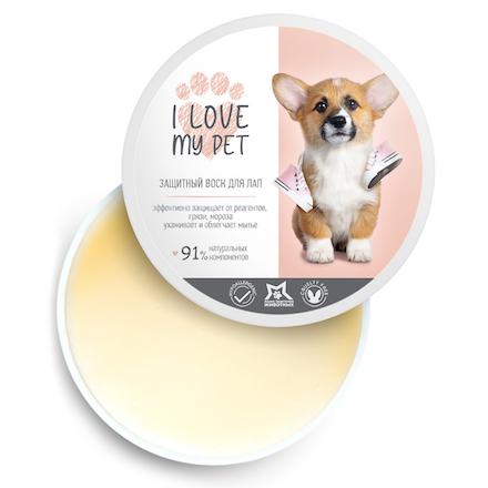 Купить I Love My Pet, Защитный воск для лап, 250 мл